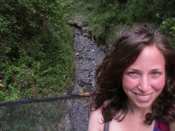 right before i hiked 1 hour straight uphill...nbd...(i obviously had no idea what i was about to encounter...).