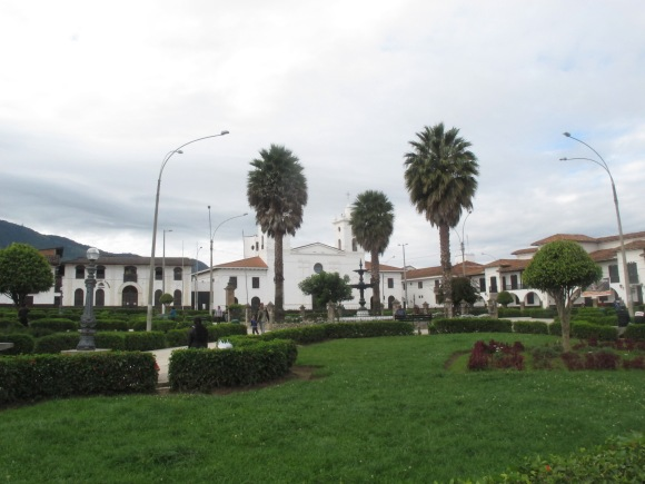 the plaza in chacha.