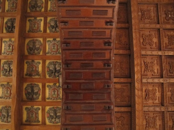 the other highlight to the city was going to the religious art museum...not necessarily for the art, but  really just for the carved cedar wood ceilings.