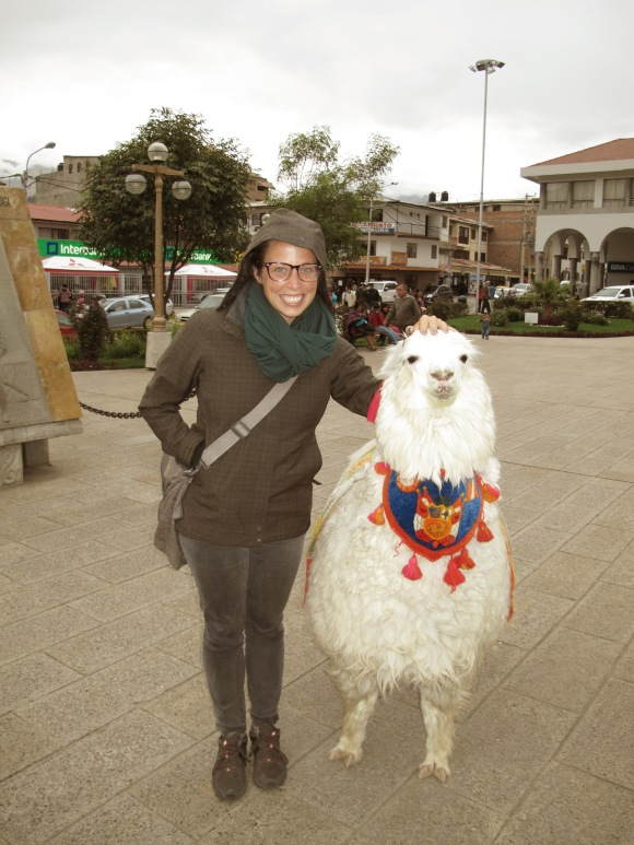 and i totally decided to fall for the tourist trap of posing with an alpaca because why not???