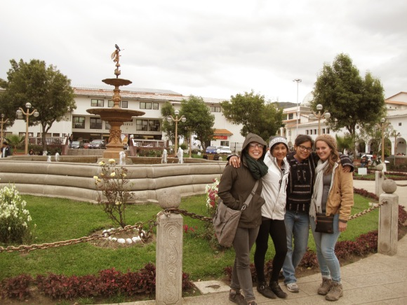 after our long days of training, we went to the main city for water and just to take time to look around. this is me and some of my favorite fellow pcperu 19 ladies.