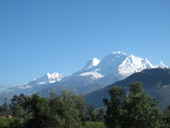 beautiful huascaran.