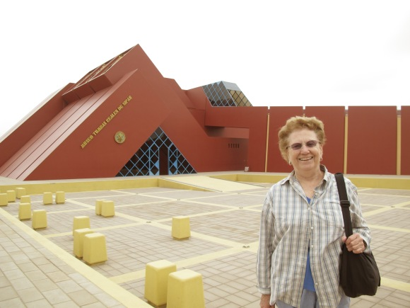 loving the museo de tumbes reales.
