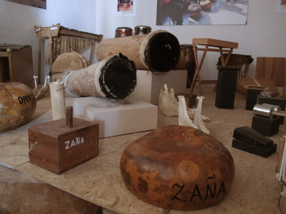 we visited the afro peruano museum in zana!